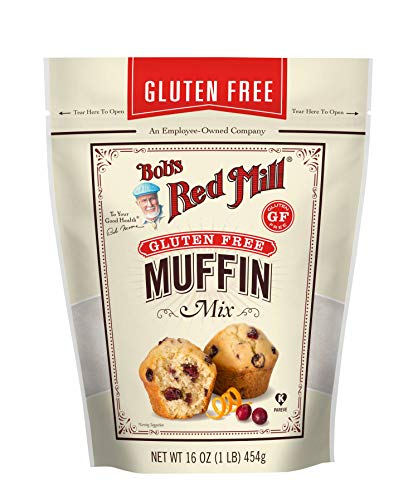 Bob's Red Mill Gluten Free Muffin Mix, 16 Oz