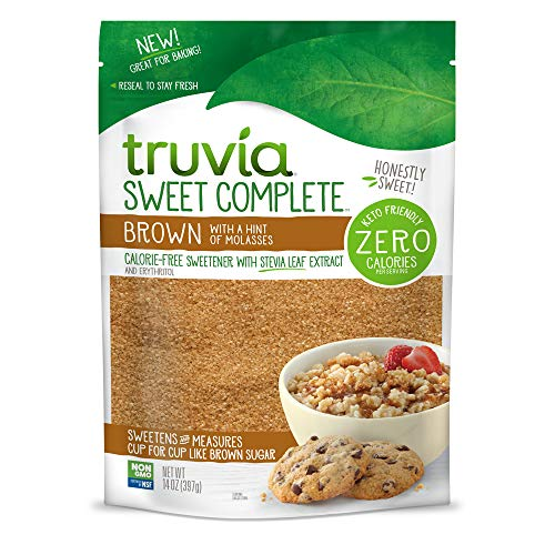 Truvia Sweet Complete Sweetener , Brown with a hint of Molasses, 14 Ounce