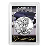 2020 - American Silver Eagle in'Graduation' Holder Dollar Uncirculated Us Mint
