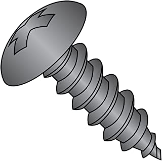 Pack of 10 Hex Drive Steel Sheet Metal Screw Type AB 5//16-12 Thread Size 7//16 Width Hex Head 2 Length Zinc Plated Finish