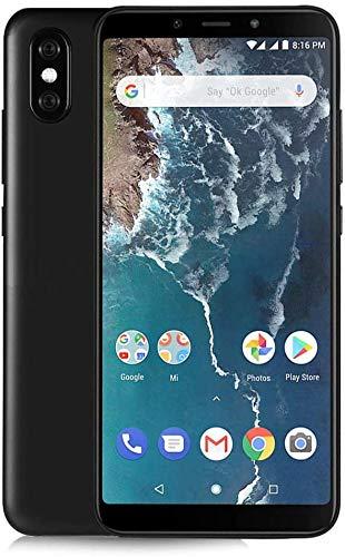 Xiaomi MI A2 - Smartphone DE 5.9' (Qualcomm Snapdragon 660 a 2.2 GHz, RAM de 4 GB, Memoria de 64 GB, cámara Dual de 12/20 MP, Android) Color Negro [Versión española]