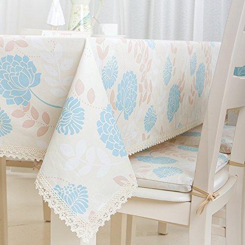 DXG&FX Europese pastorale kant tafelkleed stof tafelkleed langwerpige doek verse ronde salontafel tafelkleed