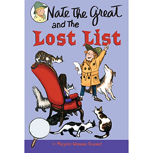 Nate the Great and the Lost List audiobook cover art