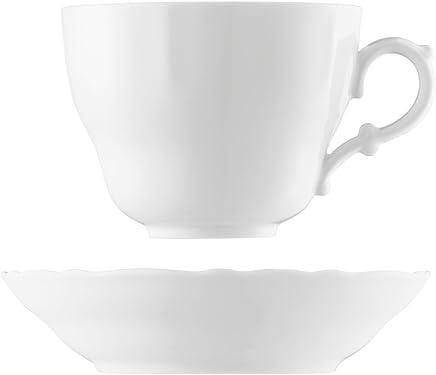 Preisvergleich für Rosenthal Hutschenreuther Maria Theresia Café Au Lait 2-TLG. Weiss