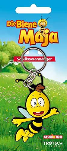 3 D Schlüsselanhänger Willi, Die Biene Maja, Flip, Grashüpfer, Honig