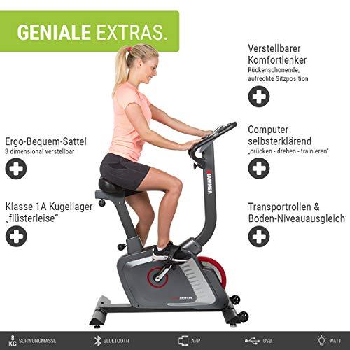 HAMMER Premium Ergometer Heimtrainer kaufen  Bild 1*