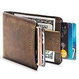 Men Wallet - RFID Minimalist Slim Front Pocket...
