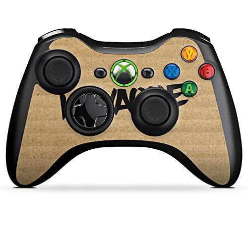 DeinDesign Skin kompatibel mit Microsoft Xbox 360 Controller Aufkleber Folie Sticker Kawaque Karton Merchandise