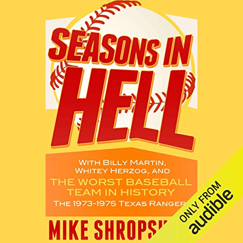 Seasons in Hell audiobook cover art