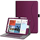 Fintie Case for iPad Mini 4 - [Corner Protection] Multi-Angle Viewing Folio Smart Stand Protective Cover with Pocket, Auto Wake/Sleep, Compatible with iPad Mini 5th Gen 2019 (Purple)
