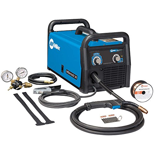 Miller Electric - 951601 - Miller Millermatic 141 MIG Welder, 120 Volts, With M-100 MIG Gun With 10' Leads And Running Gear/Cylinder Rack, ( Each )