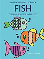 Coloring Books for 2 Year Olds (Fish)