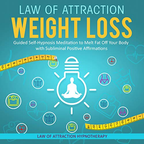 Law of Attraction Weight Loss audiobook cover art