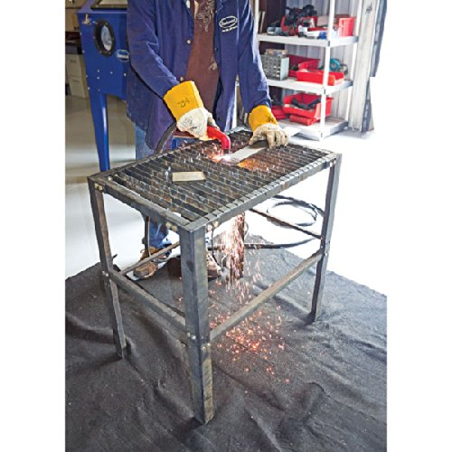 Eastwood Plasma Cutting Table Sturdy Carbon Steel Construction Workbench Table for Workshop Supports Up to 250 Lbs