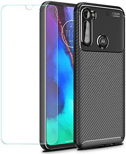 günstig Motorola Moto G Pro / Moto G Styus + gehärtetes Glas, schlagfestes TPU-Silizium-Rückseiten-TLING-Gehäuse… Vergleich im Deutschland