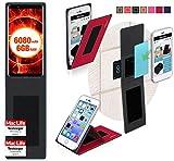 Hülle für Ulefone Power 3 Tasche Cover Hülle Bumper | Rot | Testsieger