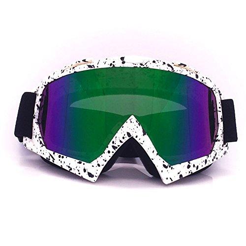 Schutzbrille Motorradbrillen Motocross Dirtbike Fahrrad Off-Road Winddicht Staubdicht Snowboardbrille Brille