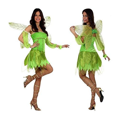 Atosa 10185 Costume Fata Autunno Verde T-2.