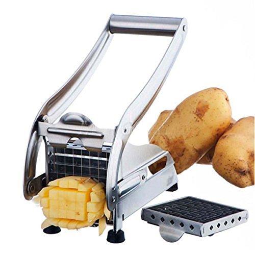 Zeagro Machine de découpe en acier inoxydable pour frites et pommes de terre