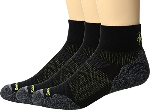 Smartwool Men's PhD Outdoor Light Mini 3-Pack Black Medium