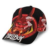 ベースボールハット 野球帽 Hellboy(4) 軽薄 日よけ野球帽 登山 釣り ゴルフ 運転 アウトドア 男女兼用