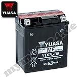 Batteria YUASA YTX7L–BS, 12V/6AH (dimensioni: 114x 71x 131)