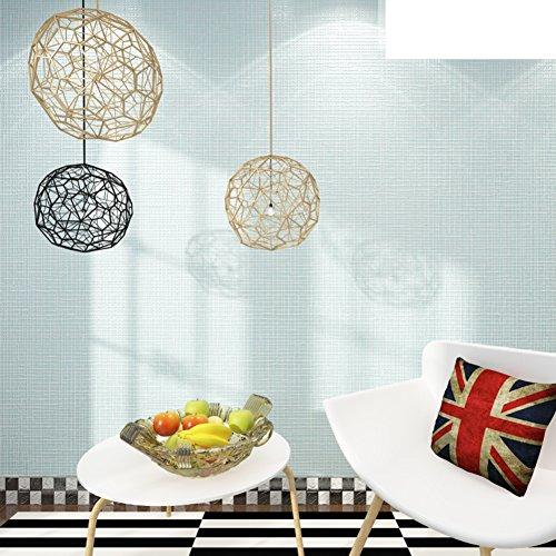 effen behang/non-woven geruit tafelkleed/eenvoudige doeken/woonkamer slaapkamer tafelkleed/decoratie behang/blauw wit behang-E