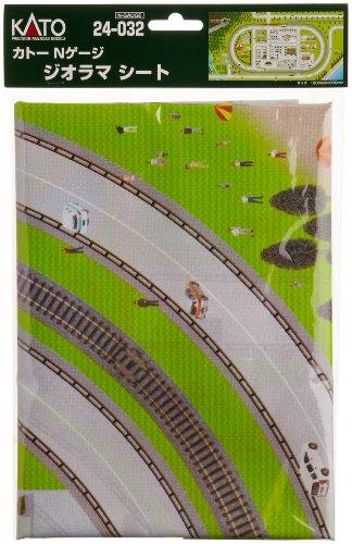 N Gauge Kato 24-032 N Gauge diorama sheet (japan import)