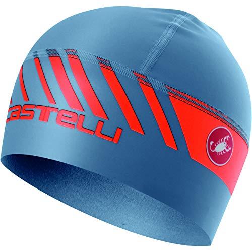 Castelli Arrivo 3 Thermo Skully (Light Steel Blue)