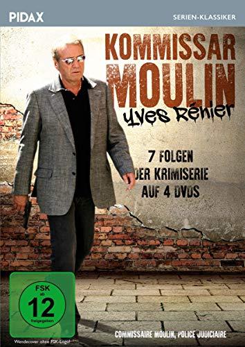Kommissar Moulin / Sieben Folgen der Kult-Krimiserie mit Yves Rénier (Pidax Serien-Klassiker) [4 DVDs]