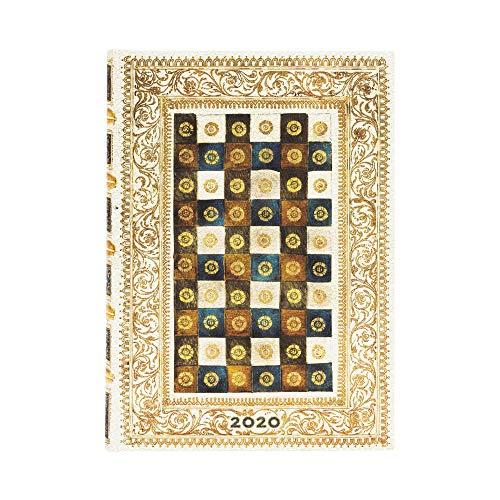 Paperblanks Agende 12 Mesi 2020 Aureo | Giornaliera | Midi (130 × 180 mm)