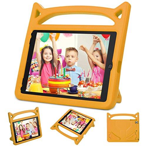 Ubearkk Schutzhülle für iPad 2 / 3 / 4, stoßfest, leicht, kinderfreundlich, super Schutz, kindersicher, mit Griff und Standfunktion, Orange