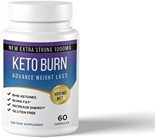Keto Burn Keto Pills - Ketogenic Fat Burner - for Women & Men - Promotes Healthy Energy Levels - Burn Belly Fat Fast - Carb Blocker - Keto Burn - 60 Capsules …
