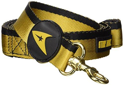 Star Trek Pet Gold Uniform Leash