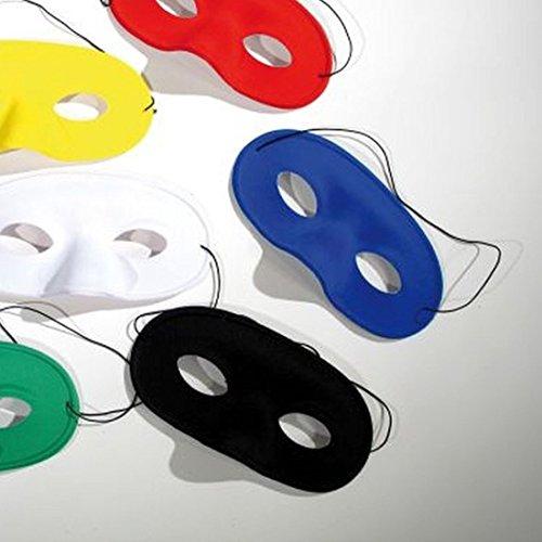 NET TOYS Loup Domino Noir Zorro Loup Masque de Bandit Bal masqué Carnaval Masque Domino Masque de Zorro