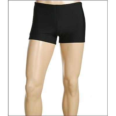 Speedo ML Solid Endurance Square Leg (Black) Men