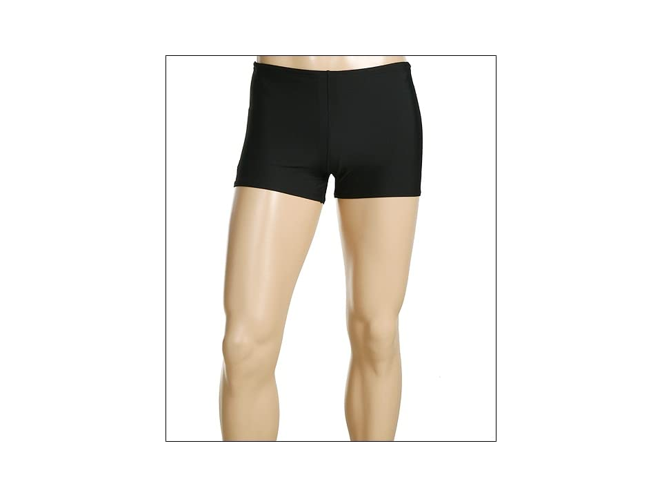 Speedo ML Solid Endurance Square Leg (Black) Men