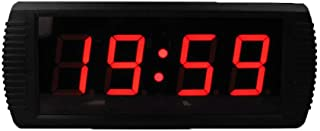 Fitness Training Timer Digital Smart Large LED Wall Clock Jätteskärm med fjärrkontroll Nedräkningstimer Väggmontering (fär...
