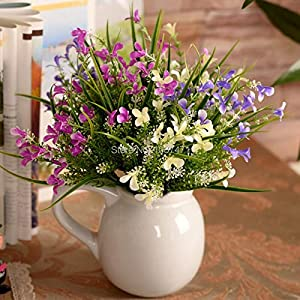 Silk Flower Arrangements Artificial and Dried Flower Decorative Flowers The Simulation Flower Gladiolus 30cm