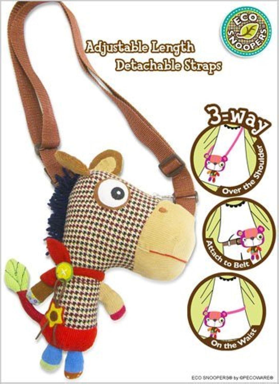 Hand Bag - Pecoware - Pony Purse Soft Plush Doll B026PN