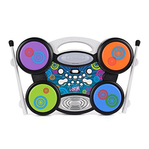 Toyrific elektrisches Schlagzeug-Set für Kinder, I-Drum mit MP3-Anschluss