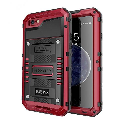 Seacosmo Coque étanche pour iPhone 6S Plus avec film protecteur d ...