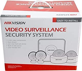 Hikvision Turbo HD 4 Channel CCTV Camera Kit with 1TB HDD, HICOM
