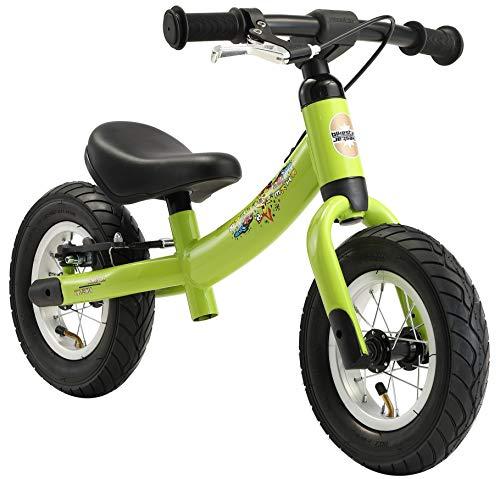 BIKESTAR® Premium Sicherheits-Kinderlaufrad für kleine Abenteurer ab 2 Jahren ★ 10er Sport Edition ★ Brilliant Grün