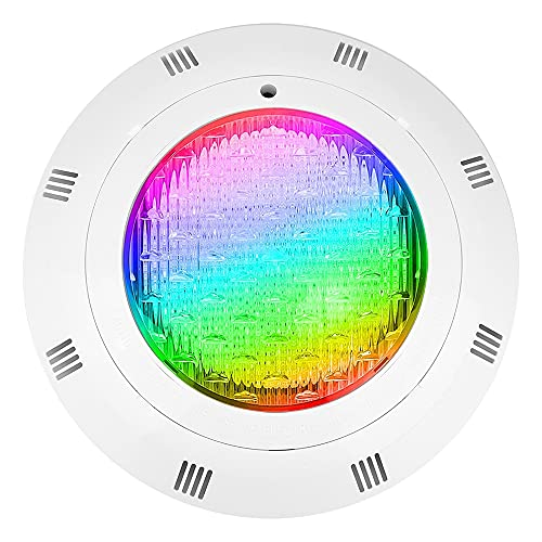 Luz de piscina LED, IP68 impermeable RGB Piscina Luces de Piscina Multi Color, Luz de Piscina Inground 12V con control remoto, para piscina Rockery Fountain Pond (Size : 35W)