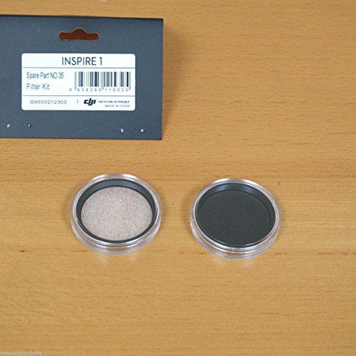 DJI Inspire 1 Zenmuse X3 Camera Filter Kit(includes 1 UV and 1 ND4)
