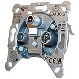 Triax EDA 302 F Antennensteckdose Silber
