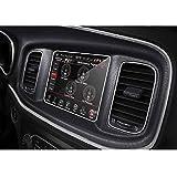 GLLXPZ Protector de Pantalla de navegación GPS para Coche, para Dodge Charger 2015-2019, Película de Pantalla Película de Tablero Interior