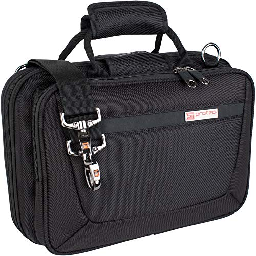 Protec Bb Clarinet Slimline PRO PAC Case, Black, Model PB307