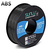 ✳【SUNLU Excellent ABS Filament】- Best ABS filament 1.75mm for making durable parts. // High Purity. High Precision. High Toughness. Low Shrinkage. Heat Resistance. Excellent Impact Strength. Abrasion Performance. Oil Resistance. Flame Retardant. ✳【No...